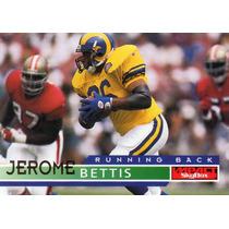 1995 Skybox Impact Jerome Bettis Rams Rb
