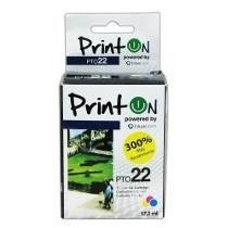 Cartucho Hp Printon 22 Convertido 17,3ml Compatible Original
