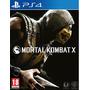 Mortal Kombat X Ps4 Nuevo Original Fisico Caja Sellada