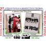 Caderno 10 Matérias One Direction Capa Dura Personalize