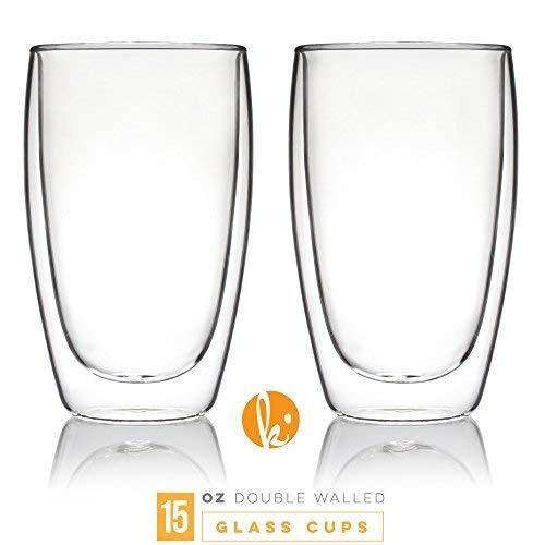 Tazas De Vidrio Para Cafe O Te Vasos Para Beber Juego De