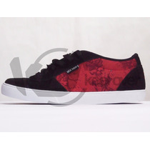 Zapatilla Sex Wax Slayer Negro Bordo Skate Unisex Keel Over