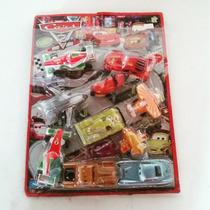 Coleção De Carrinhos Em Cartela - Personagens Cars 2