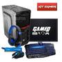 Pc Completo Gamer Quad Core + Kit Gamer Frete Gratis!