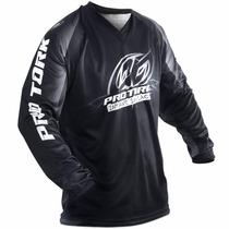 Camisa Insane Protork Motocross Enduro Trilha In Black Preta