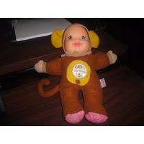 Muñequita Vestida De Changuito Baby First Sonido Abc Ingles