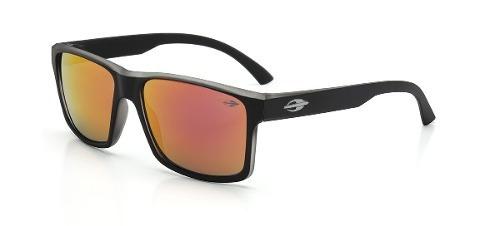 40ea8aeaeb4dc Oculos Sol Mormaii Lagos M0074a8711 Preto Fosco Vermelha Esp - R  209,00 em  Mercado Livre