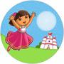 Kit Imprimible Dora Botas Chivic Cumpleaños Invitaciones
