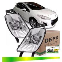 Farol Milha Peugeot 308 2011 2012 2013 2014 2015 Novo