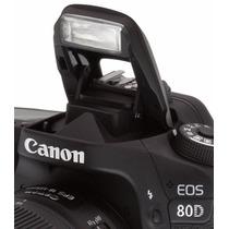 Câmera Canon 80d Wifi +18-55 Stm Nova Original E Garantia