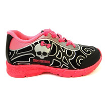Tenis Monster High Glow 21220 Grendene - Preto/rosa
