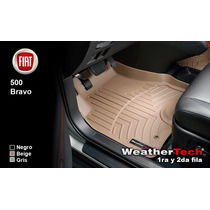 Tapetes Fiat Uso Rudo 1ra Y 2da Fila Weathertech Floorliner