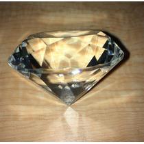 Figura Cristal Diamante 5 Cm Recuerdos Transparente Vidrio