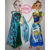 Muñecas Frozen 2 Elsa Anna 30 Cm * Ambas * * Envio Gratis *
