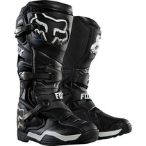 Botas Fox Comp 8 Negra Mx 2016 Motocross Atv Talla 7