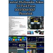 Central Multimidia Aikon Original Ford Focus 2015/2016 Tft9