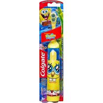Escova De Dentes Elétrica Infantil Colgate Bob Esponja (1)