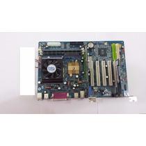 Kit Placa Mãe Slot 462, Com Processador, 512 De Memoria Ram