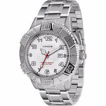 Relógio Lince (orient) Masculino Calendário Aço Mrm4334l Wr/