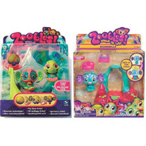 2 Paquetes De 2 Zoobles Criaturas Mágicas Y Dressoobles