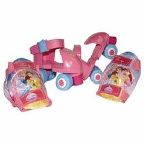 Patines Preescolares De Princesas Importacion - Gps0011