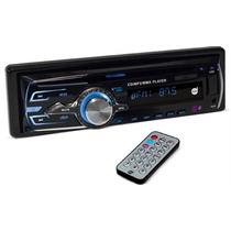 Cd Player Mp3 Automotivo Dz-65895 Com Bluetooth