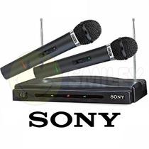 Micrófono Sony Inalambrico Wireless Profesional Uhf Hi-fi