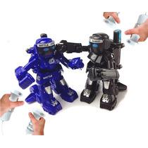 Robo De Combate Luta Boxe Battle Robot C/ Controle Remoto