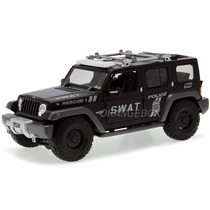 Jeep Rescue Concept Police Swat Maisto 1:18 36211