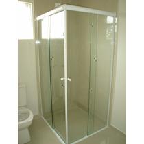 Box Banheiro Vidro Incolor 8mm Temperado Blindex Vitron Rj