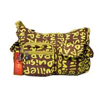 Cartera Para Dama Bellagio Bags Color Marron