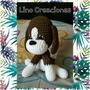 Perro Beagle Muñeco Amigurumi Crochet Regalo
