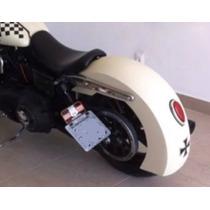 Paralama Longo Para Moto Custom Chopper Bobber Triciclo Old
