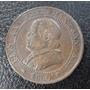 Ciudad Del Vaticano Moneda Papa Pio I X 1/2 Soldo 1867