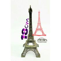 Adorno Torre Eiffel Paris 18 Cm - Con Envio Incluido