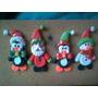 Muñecos Navideños De Masa Flexible 5 Cm