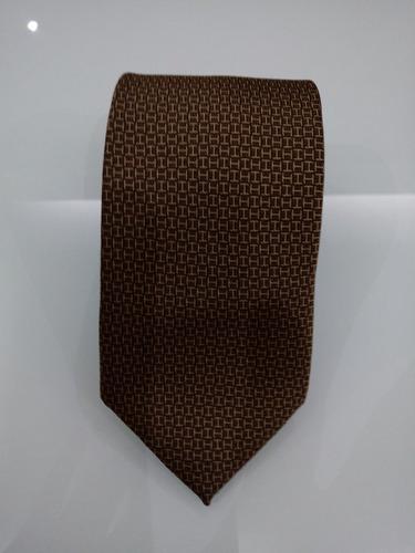 82a296934528 Gravatas Hermès Paris - Faconnee H 24 Tie - R  255