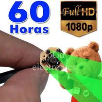 Camara Espia Extra Duracion 60horas Vision Nocturna Con Loop