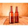 Botellas Porrón Ambar 355ml - Cerveza Artesanal - Nuevas!