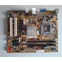 Placa Mae 775 Ddr2 Sti 005492+ Dual Core E5700+ Espelho
