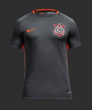 10b091292302d Camiseta Do Corinthians Cinza (personalizada) - R  75