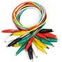 Cable Puntas Caiman Tester Multimetro Electronica Por Unidad