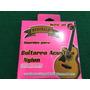 Cuerdas Para Guitarra Acústica Rosa Fosforescente