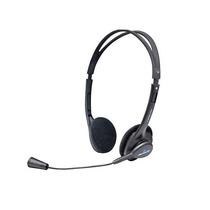 El Mas Barato Audifono Acteck Basic Microfono Am-370 Negro