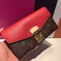 Monedero Louis Vuitton Rojo