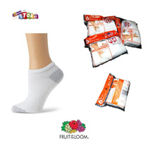 Fruit Of The Loom Medias Deportivas 6 Pares No Show-m T/4-10