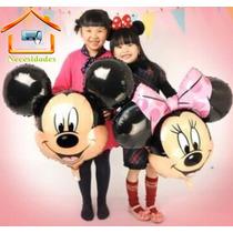 Globo Gigante Mickey Mouse O Mimi Mouse, Moño Rosa,fiesta.
