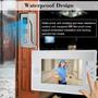 Portero Visor Videocamara+llamador+pantalla Lcd 7 Pulgadas