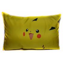 Almofada Travesseiro Game Jogo Pokémon Go Pikachu + Brinde