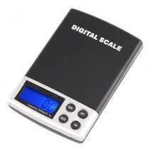 Balança Digital De Bolso Pesa De 0,1g A 2 Kg - Alta Precisão